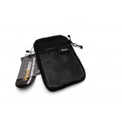 Shoulderbag Slim Impie CORDURA® Preta Refletiva
