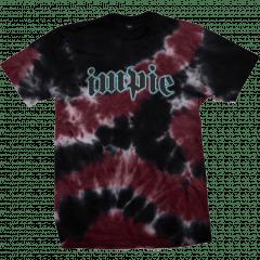 Camiseta Impie Chrome Tie Dye Preta Vermelho