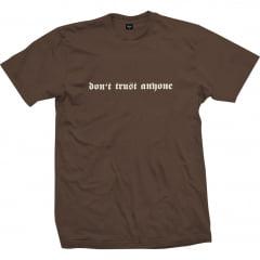Camiseta Impie DTA Marrom Fosforescente