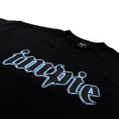 Camiseta Impie Logo Chrome Preta