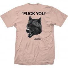 Camiseta Impie Wolf Rosa