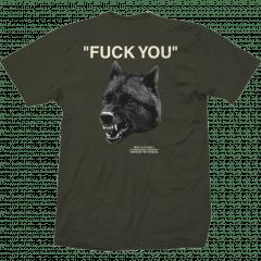 Camiseta Impie Wolf Verde Musgo